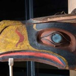Kwakwaka'wakw transformation mask that inspired the Seahawks' logo
