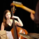 Jazz Studies major Carmen Rothwell, bass