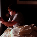 ApneaApp uses a smartphone to wirelessly detect sleep apnea events in the privacy of one's bedroom, without needing sensors or special equipment.