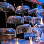 The Cloud Chamber Bowls invented by Harry Partch are included in the collection of instruments in residence at the UW.