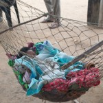 A Toba/Qom child sleeps.