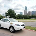 Photo of driverless car