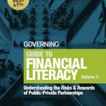 Volume three of Justin Marlowe's Guide to Financial Literacy has been published by Governing magazine.