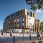 The new 130,000-square-foot UW CSE building will provide space for the University of Washington to double the number of computer science and engineering graduates annually.