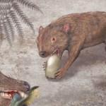 an extinct mammal