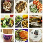 Image of food photographs posted on Instagram
