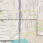 graphic of commute where someone could be tracked via ads