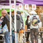 The University of Washington's Doorway Project has been offering pop-up cafes for homeless youth in the U District since last December. The event is a partnership with YouthCare to coordinate services in the neighborhood, which has one of the largest concentrations of homeless youth in King County.