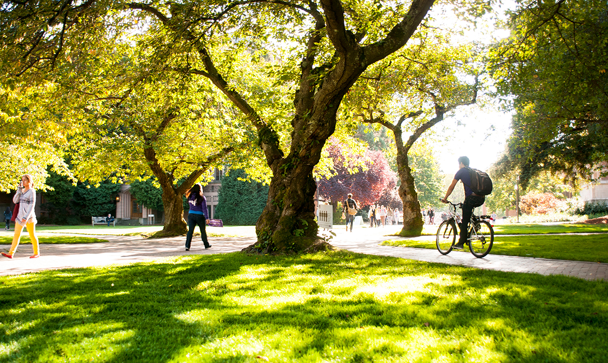 Gold standard: UW wins recognition as bike friendly campus