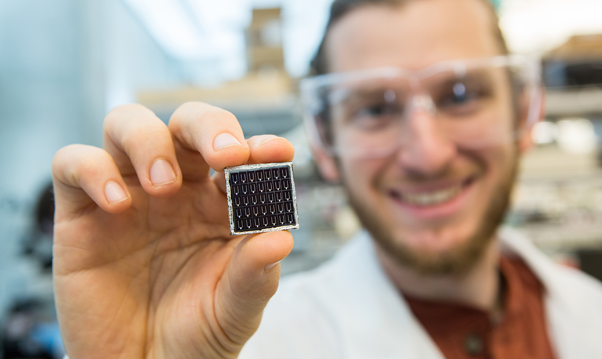 Three awards from US Energy Department to fuel UW solar cell research