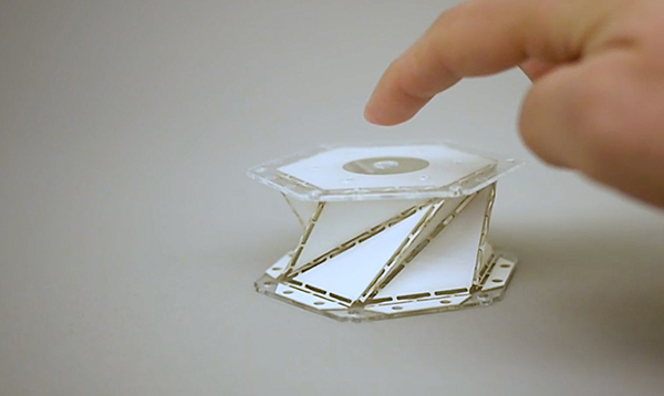 Origami-inspired materials could soften the blow for reusable spacecraft
