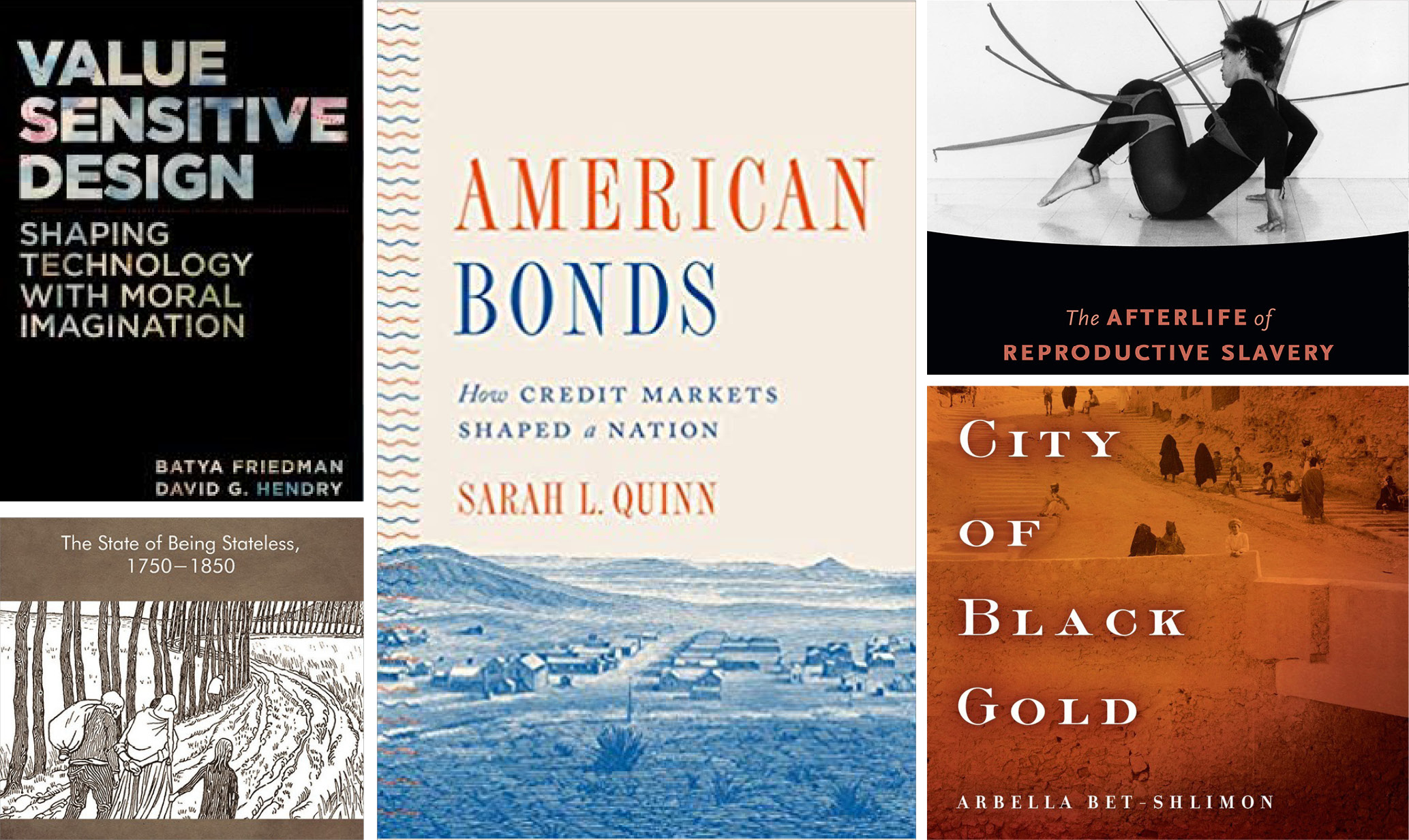 UW Books in Brief: US credit markets in history, 'value sensitive' design and more