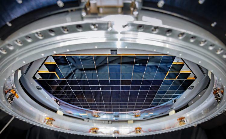 用于宇宙天体物理观测的照相机焦平面的图像