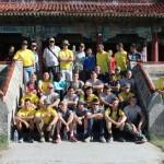 CULP Team Mongolia at the Amarbayasgalant Monastery