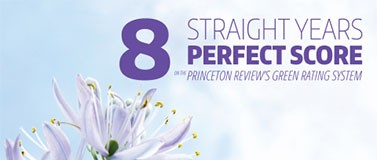 Princeton review score 2018