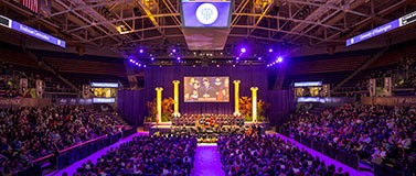New Student Convocation at Alaska Airlines Arena