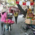 Morning shopping, Vietnam