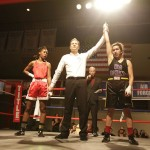 Robles earns a unanimous decision in her UW Boxing debut.