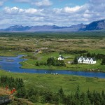 Þingvellir (Thingvellir) is the National Park where the Althing, an open-air assembly representing the whole of Iceland, was established in 930 and continued to meet until 1798.