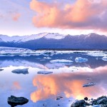 """Jökulsárlón (literally """"glacial river lagoon"""") is a large glacial lake in southeast Iceland, on the edge of Vatnajökull National Park"""