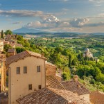 Ancient Etruscan city of Montepulciano