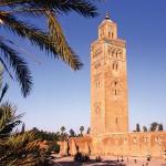 Koutubia Mosque in Marrakech, Morocco