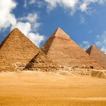 Giza is an Egyptian city on the west bank of the Nile, near Cairo
