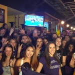 Fans at a New York Viewing party