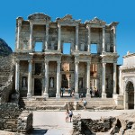 The Library of Celsus is an ancient Roman building in Ephesus, Anatolia, now part of Selçuk, Turkey.