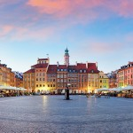 The Warsaw Old Town is the oldest part of Warsaw, the capital city of Poland.