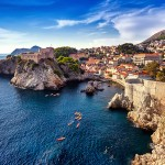 Dubrovnik is a city in southern Croatia fronting the Adriatic Sea