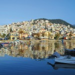 Kavala, the capital and main port of the Kavala prefecture is built on the slopes of Mt. Symvolo