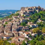 Named Cordes-sur-Ciel in reference to its height above the clouds over low-lying areas of the valley.