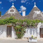 Alberobello is a town in Italy's Apulia region known for its trulli, whitewashed stone huts with conical roofs.