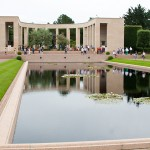 Reflecting Pool at Normandy American Cemetery in France