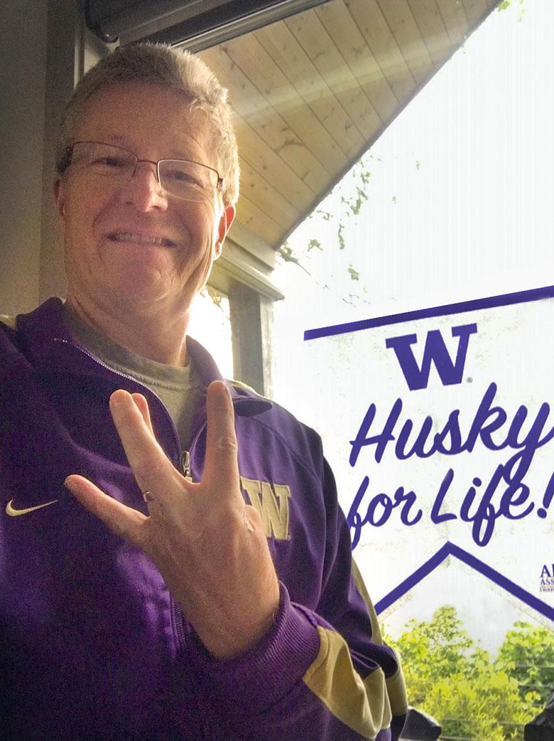 Husky for Life Banner