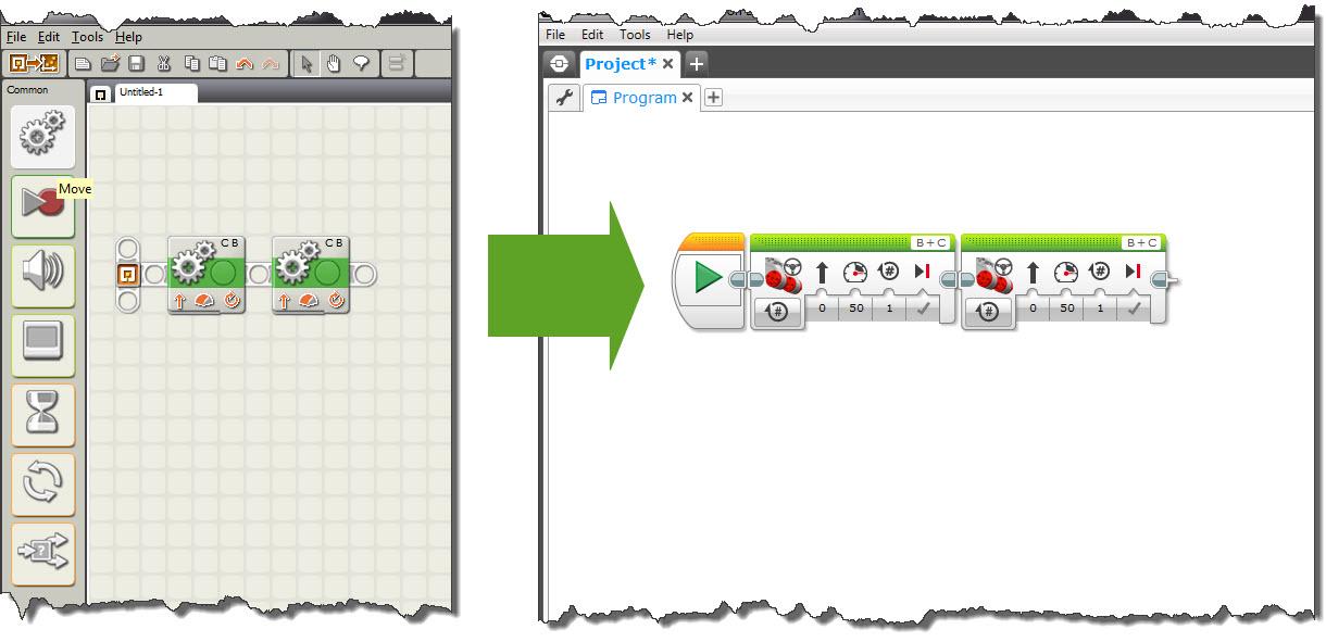 Programming Environment | Virtual Robotics Toolkit