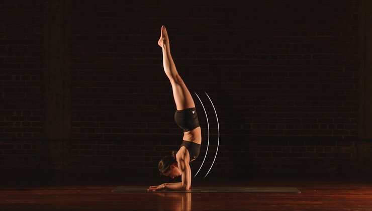 Float Into Forearm Stand