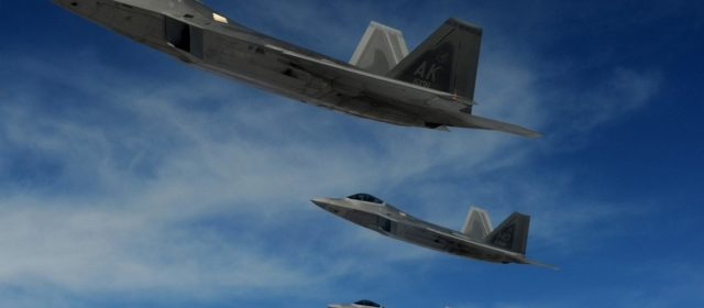 Air Force Ready to Spread Stealth Fighters Across the Pacific