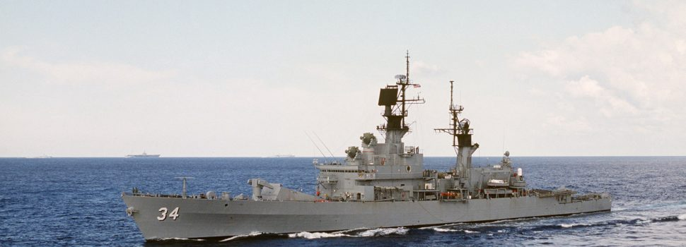 This American Warship Shot Down MiGs and Pranked the Soviets