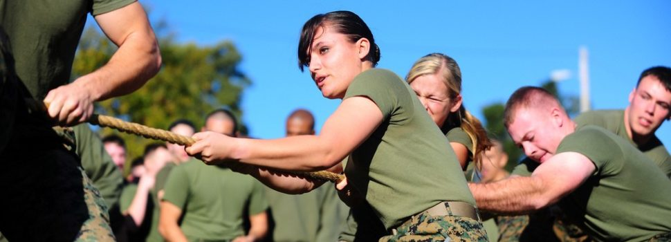 Women Marines Are Marines, Too — Same as Men