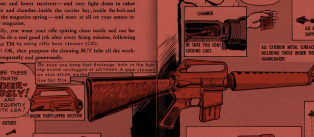 The U.S. Army Had an M-16 Comic Book