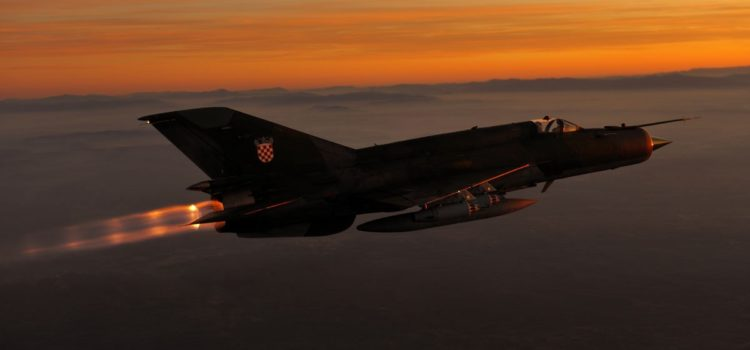 Croatia's Entire Frontline Air Force Almost Got Stranded in Ukraine
