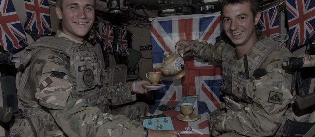 The British Perfected the Art of Brewing Tea Inside an Armored Vehicle