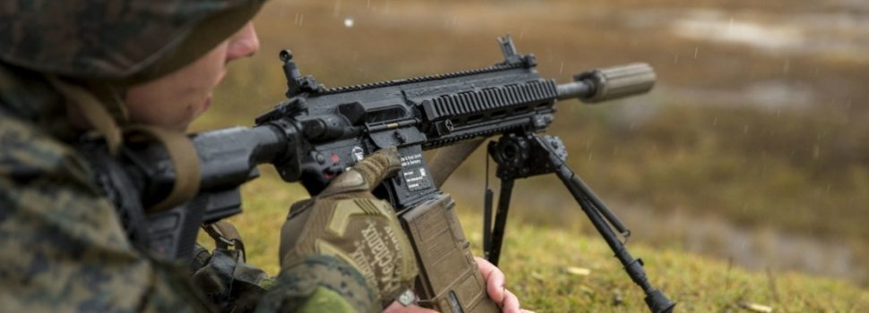 The U.S. Marine Corps Is Getting a New Rifle
