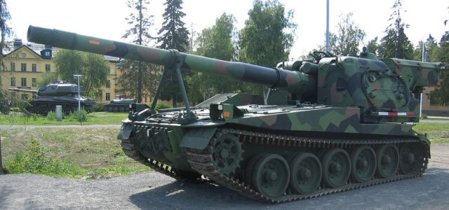This Swedish Howitzer Could Fire Faster Than You Can Say 'Bandkanon'