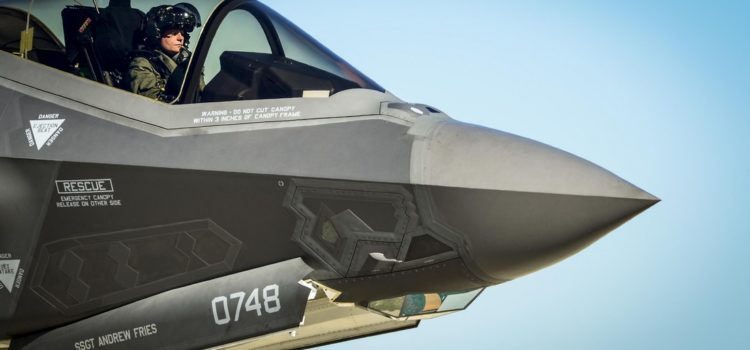 With the F-35, Industry Is Holding Taxpayers Hostage