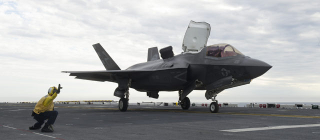 U.S. Marines Want to Pack 20 Stealth Fighters on One Assault Ship