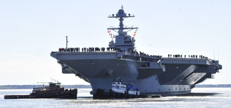 Why the U.S. Navy Loves Big Aircraft Carriers