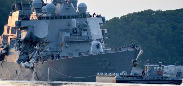 U.S. Warship Wrecked, Sailors Missing After One of the Worst Navy Collisions in Years